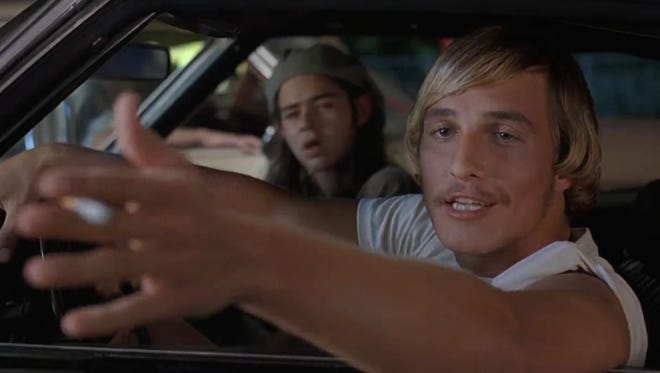 """Rory Cochrane and Matthew McConaughey in a scene from """"Dazed and Confused."""""""