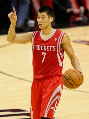 Jeremy Lin started every game of last season for the Rockets.