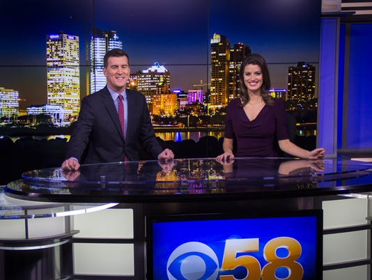 Bill Walsh and Kate Chappell, WDJT-TV