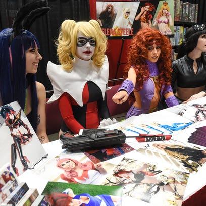 Comic characters come to life at 1st LionCon