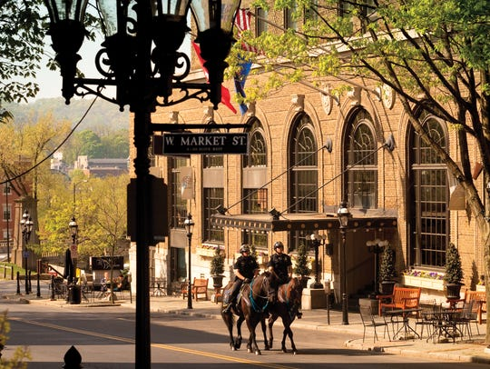 Hotel Bethlehem is a historic hotel located in Bethlehem,