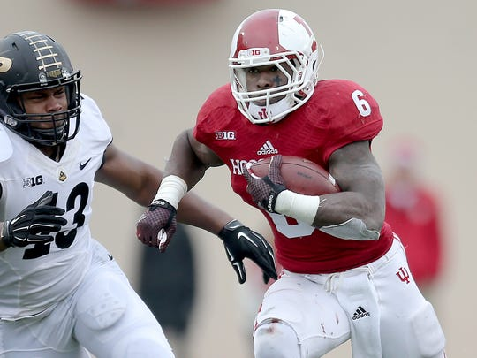 IU running back Tevin Coleman could be enticing in Round 2.