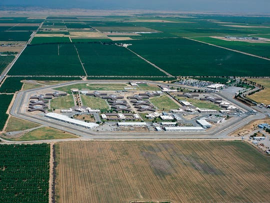 Ariel view of Central California Women's Facility.