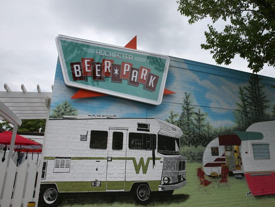 Beer Park, a new craft beer bar near the South Wedge,