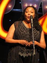 Fredi Walker-Browne performs at BroadwayCon 2017.
