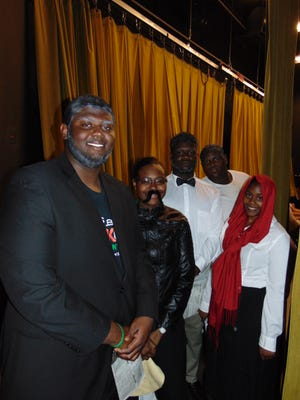 FAMU DRS students presented a program for Black History month