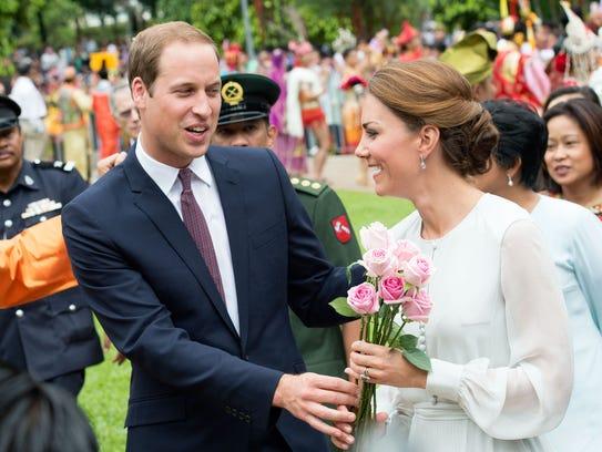 Prince William Duchess Kate