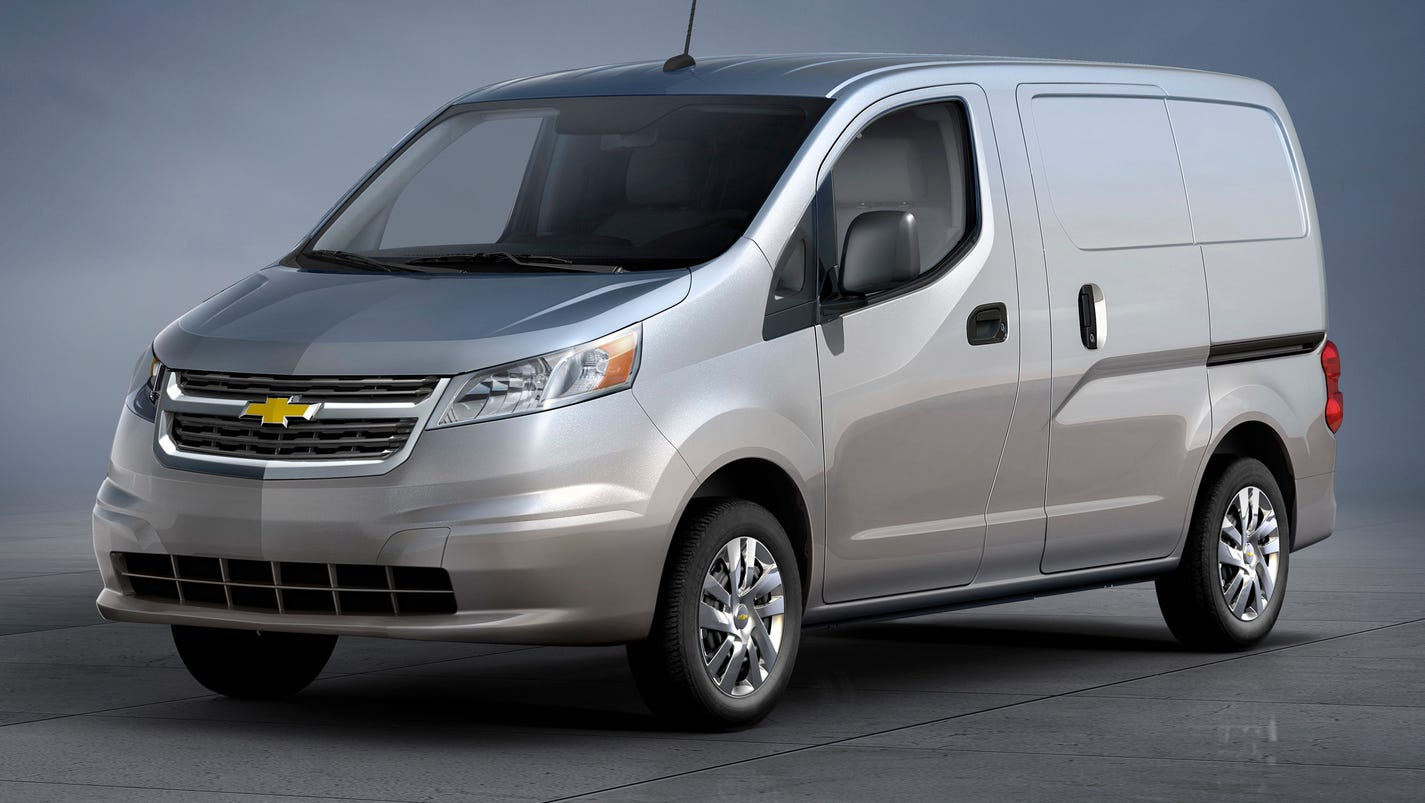 Chevy City Express van rated 24 mpg in town