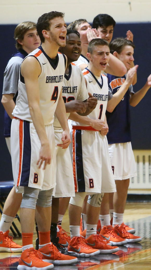 Briarcliff earned the No. 3 seed in Section 1's Class B boys basketball tournament after finishing the regular season 16-4.