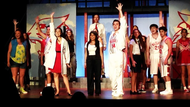 Disney's High School Musical on Stage! concludes this weekend.