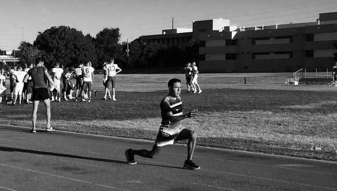 """Leonel """"Leo"""" Manzano, el mexicoamericano medallista de plata de las olimpiadas 2012."""