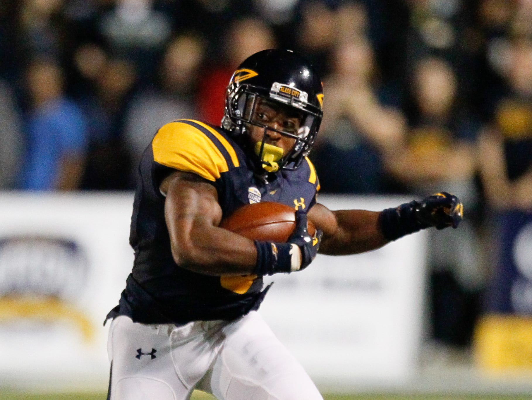 Toledo wide receiver Kishon Wilcher