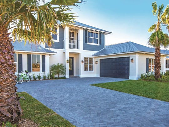 Model B in Tarpon Flats was recently honored in Treasure Coast Newspapers with a Builder's Showcase Award for Best Two-Story Design.