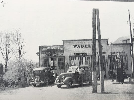 For years Scotland identified with Wadel's service station at the corner of Main Street and Scotland Road.