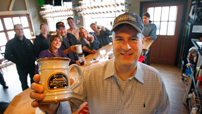 Tim Garman is co-owner of the Fairport Brewing Company, which is part of the area's growing craft beer scene. There are 154 craft breweries in New York, up from 50 breweries three years ago.
