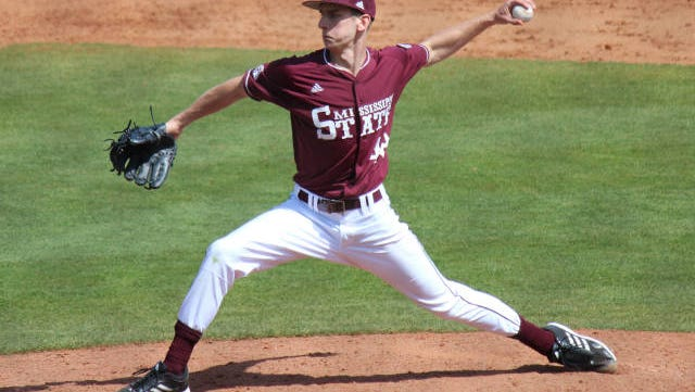 Mississippi State starter Ross Mitchell had his worst outing of the season against Louisiana-Lafayette on Sunday.