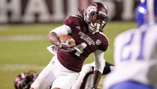 Mississippi State wide receiver Jameon Lewis' status is uncertain for the Bulldogs' game against Auburn.