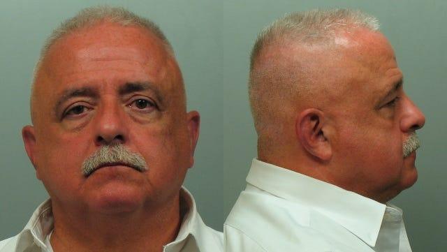 Hugh Fox's mug shot from his DWI arrest in White Plains.