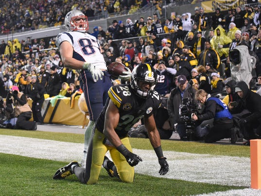 USP NFL: NEW ENGLAND PATRIOTS AT PITTSBURGH STEELE S FBN PIT NEP USA PA