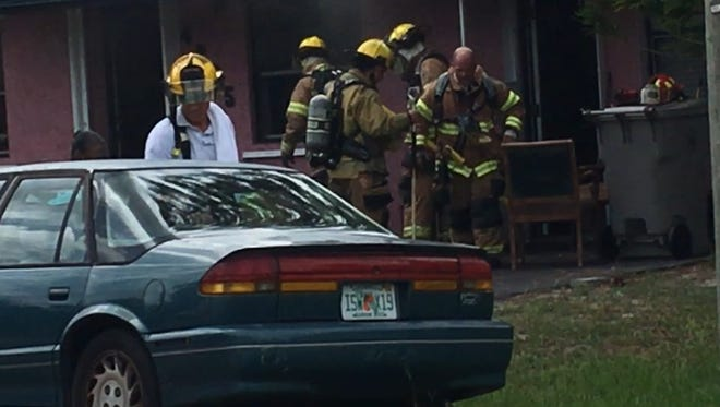 Indian River County Fire Rescue handled a kitchen fire Saturday in Gifford