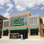 The Whole Foods Market on Mack Avenue is seen here in May 2013, weeks before it opened. Jarrad Henderson/Detroit Free Press