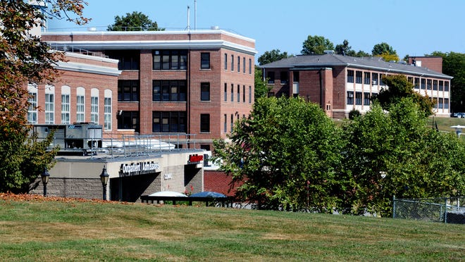 The outpatient admissions clinic, lower left, at the VA Hudson Valley Health Care System Castle Point campus. This week, Castle Point was flagged for review in a nationwide audit of VA medical facilities.
