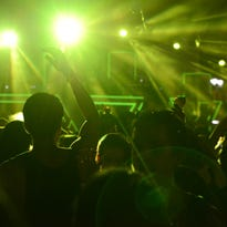 Fans watching a performance at the 2014 edition of 515 Alive Music Festival.