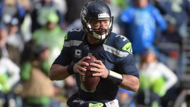 Seahawks QB Russell Wilson makes as many plays with his arm as his legs.