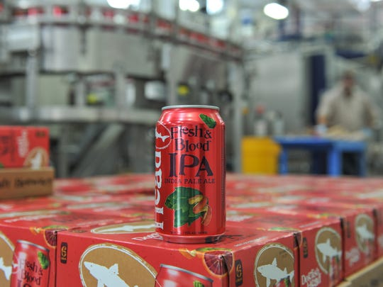 In November, Milton's Dogfish Head Brewery began releasing
