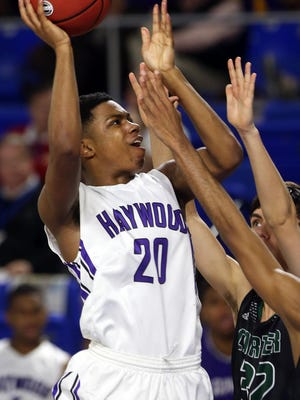 Haywood's Dedric Boyd has committed to play college basketball at Eastern Kentucky.