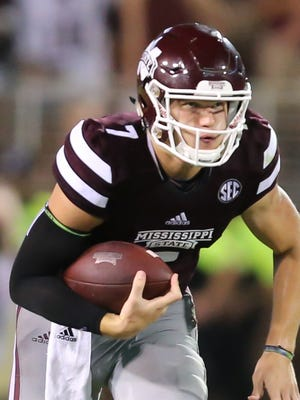 Mississippi State quarterback Nick Fitzgerald said last year's loss to South Alabama was a wake-up call.
