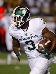 Michigan State's LJ Scott.