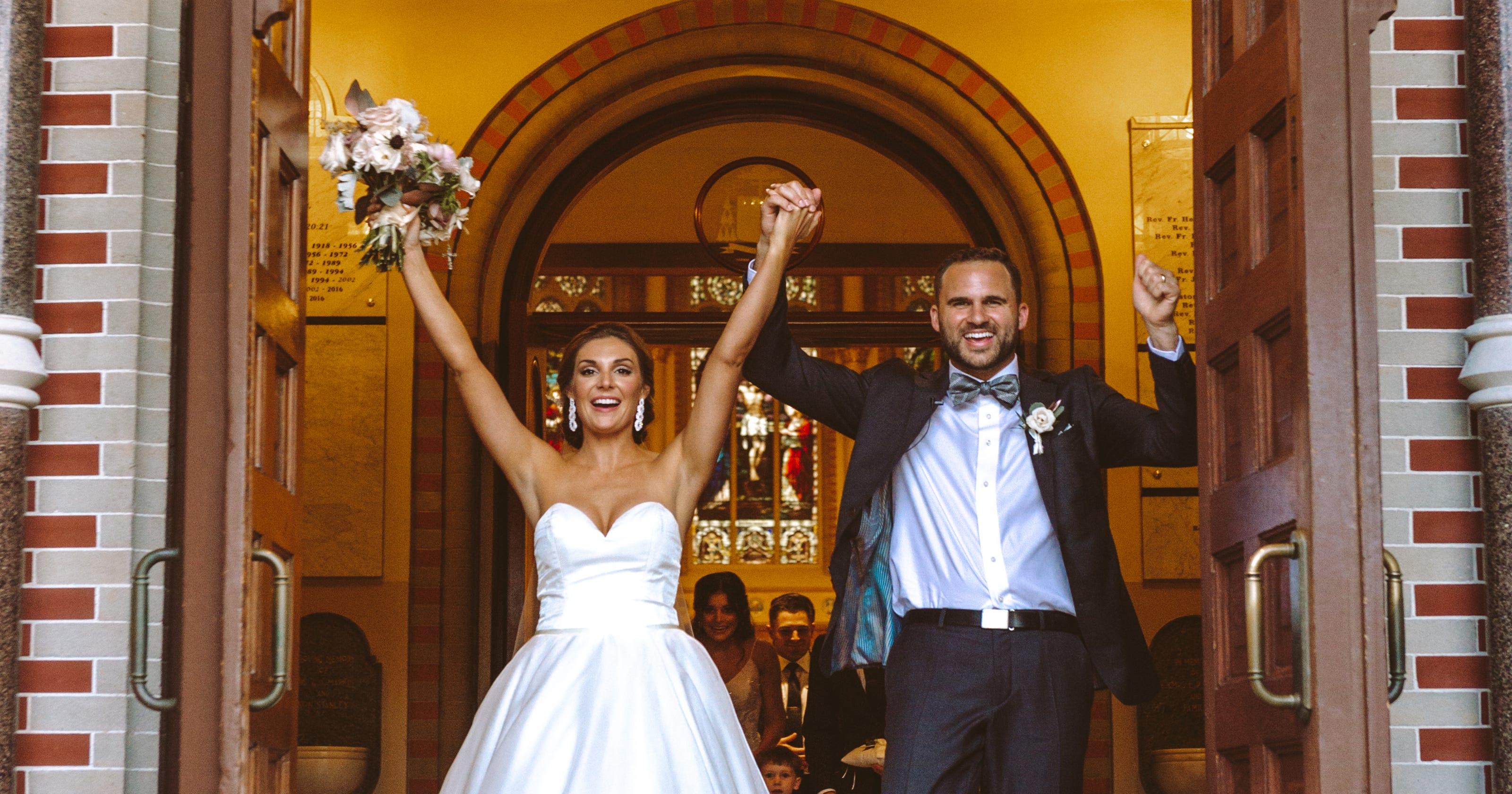 Erin Edmiston, Katharine Michot share their wedding styles
