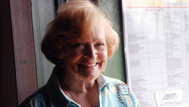 Mavis Frugé will be inducted into the Living Legends at the Acadian Memorial, Thursday,  in St. Martinville.