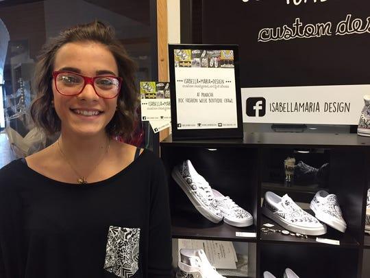 Isabella Maria Barbagallo creates custom shoes