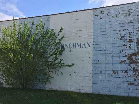 Hinchman's ghost, 607 S. Illinois St. Here, in the