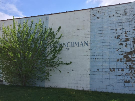 Hinchman's ghost, 607 S. Illinois St. Here, in the 1960s and 1970s, the top race drivers were fitted for their driving suits. The company moved to a new location several years ago.