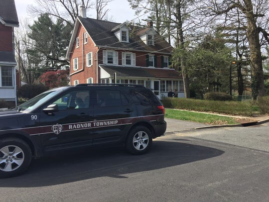 Radnor Township police investigate a slaying-suicide