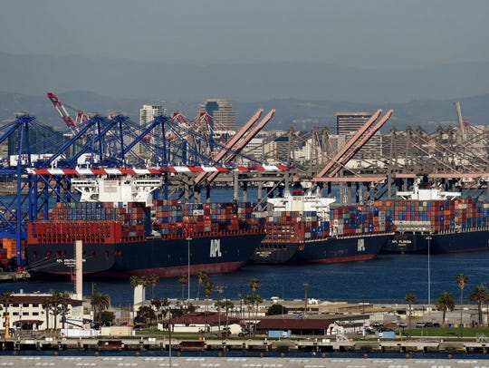 Exports helped boost the U.S. economy last quarter.