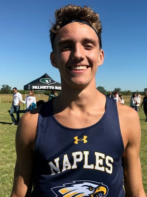 Dylan Clark, Naples High boys cross country