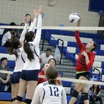 Lady Colts defeat Lady Indians, 3-1, to close out first half of the district undefeated