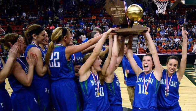 If the proposed success-based multiplier had been in place, Green Bay Notre Dame would move up to Division 1 after winning back-to-back D2 girls basketball state titles.