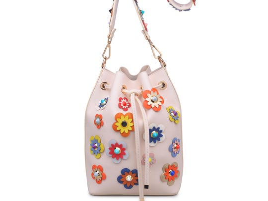 Urban Expressions bucket bag $90, Portage & The Jewelry