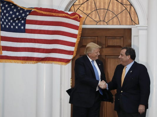Donald Trump, Chris Christie