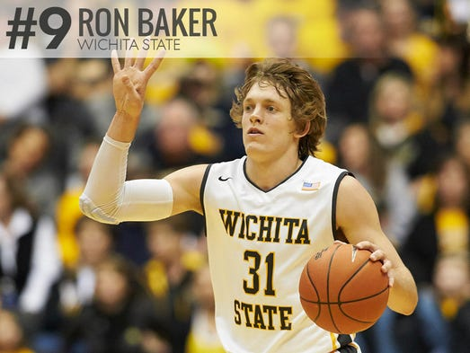 Ron baker wichita state the 6 3 junior guard is the