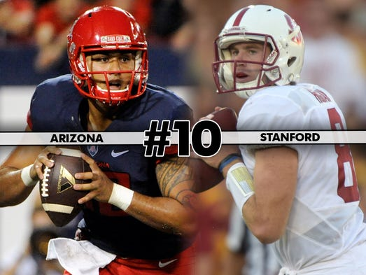 Arizona at Stanford, Saturday at 10:30 p.m. ET on Pac-12