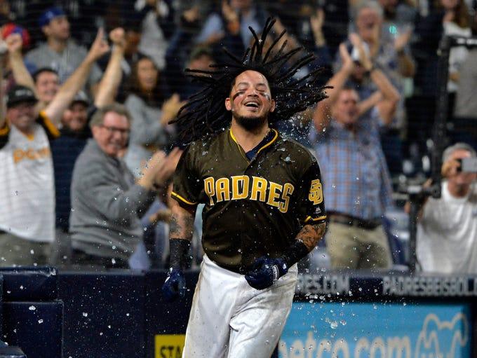 Sept. 28: San Diego Padres shortstop Freddy Galvis