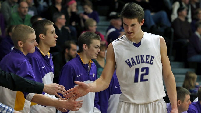 Waukee senior-to-be Michael Jacobson will be playing basketball in college at Nebraska, his coach, Justin Ohl, confirmed on Thursday night.