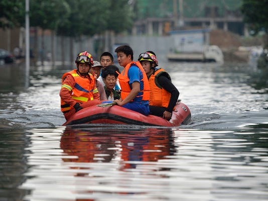 AP CHINA FLOODS I CHN