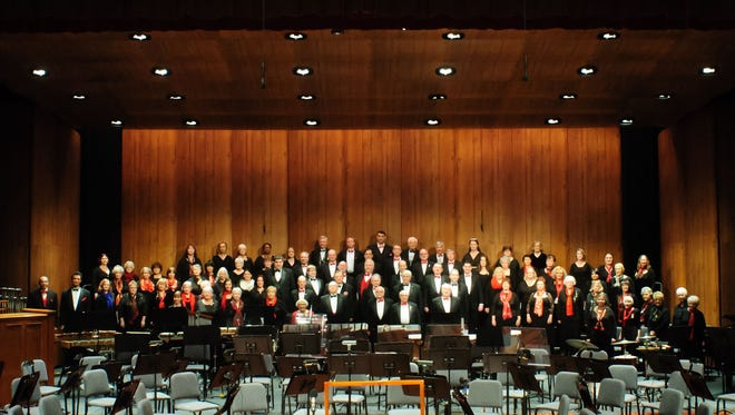 The Sheboygan Symphony Chorus pictured in 2018.